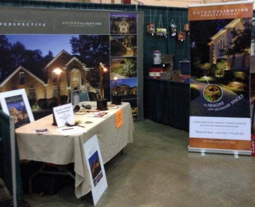 Outdoor Lighting Perspectives's booth at a previous convention.